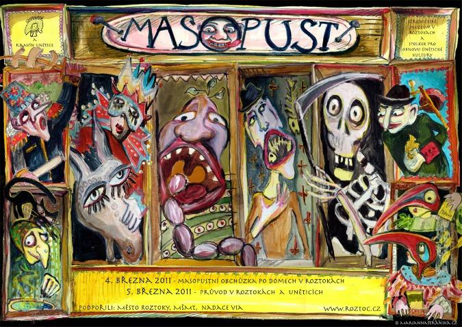Roztoky masopust, 2011