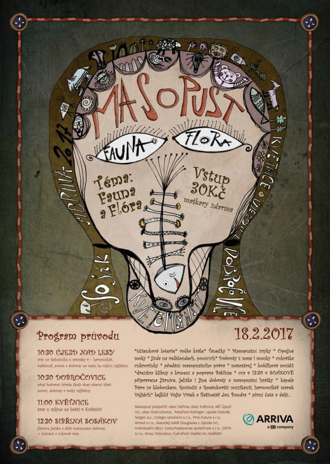 The Fantastical Folk Art of the Czech Masopust Poster