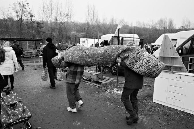 Saying Farewell to the Old Kolbenova Flea Market