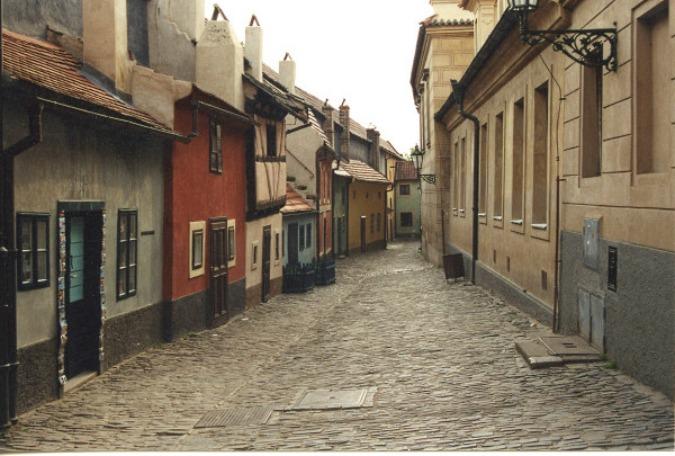 Prague Golden Lane, 2001.
