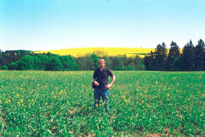Bohemian countryside, 2001.