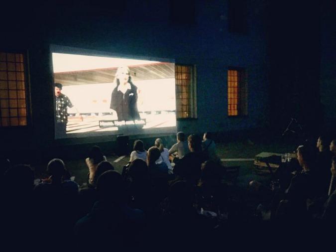 Cinema night at Phil's