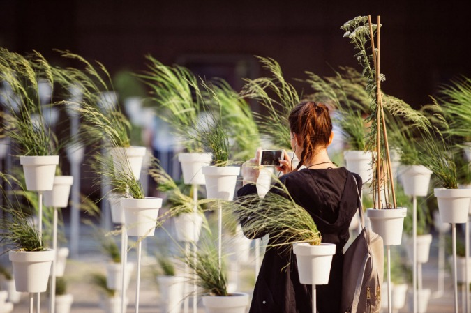 , Botanical Labyrinth Appears Outside Prague's National Theatre, Expats.cz Latest News & Articles - Prague and the Czech Republic, Expats.cz Latest News & Articles - Prague and the Czech Republic