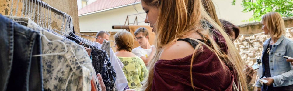 Giving Clothes—and People—a Second Chance In Prague