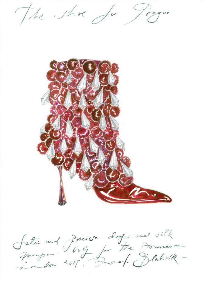 Shoe for Prague