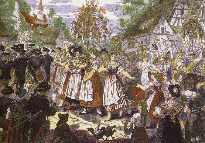 Image: Traditional Czech harvest festival / Wikipedia Commons