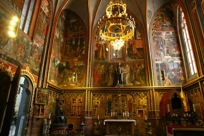 St Wenceslas Chapel / Photo: Wikipedia Commons