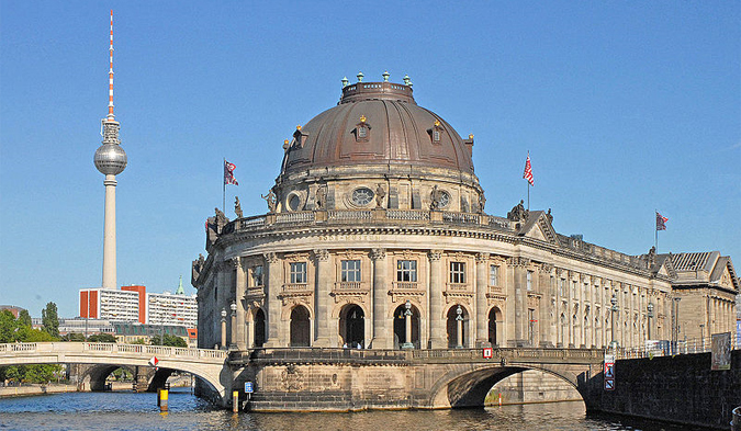 Bodemuseum on the Museum Island