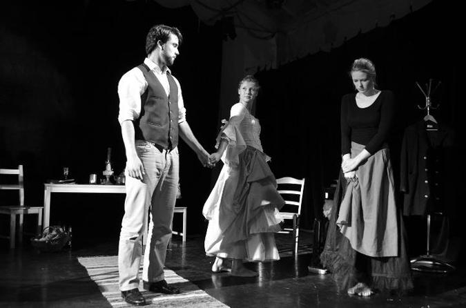 BLR presents 'Miss Julie' by August Strindberg - September 2011 (photo: M. Madisonova)
