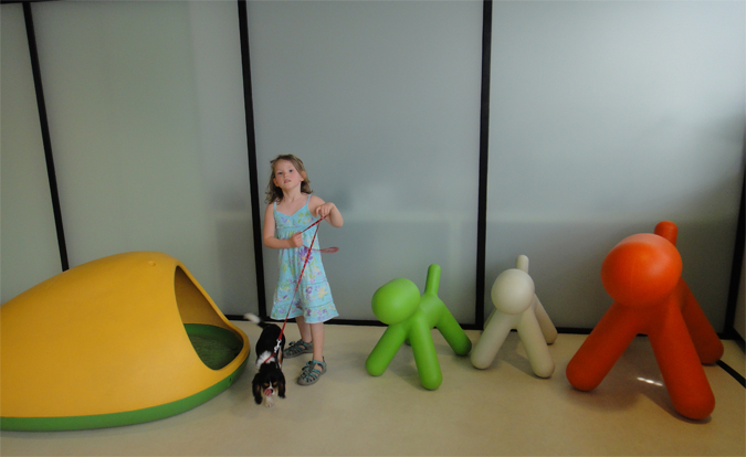 Play area in Dejvice branch