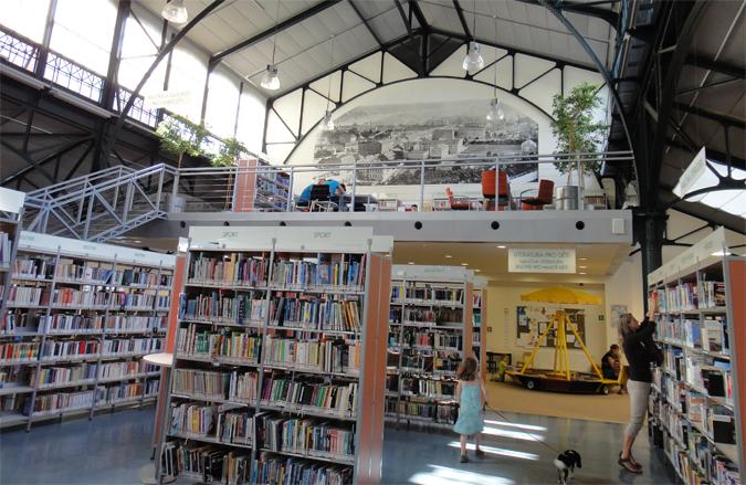 Children friendly libraries in Prague