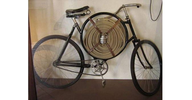 Cimrman's Fireman's Bicycle