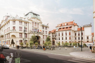 Prague's Mariánské náměstí will become a pedestrian zone starting at the end of September
