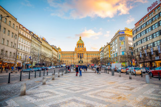 Art exhibits from young sculptors will decorate Prague's Wenceslas Square this month
