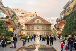 Heatherwick Studio unveils plans for new public space next to Prague's Wenceslas Square