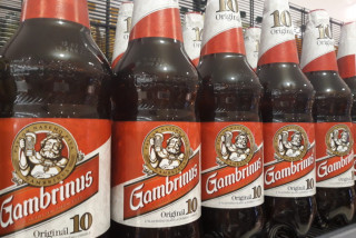 Czech beermaker Gambrinus will discontinue plastic bottles as of January 2020