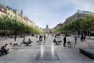 Renovation of Wenceslas Square's lower part to be completed by the end of 2021