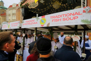 Warm up with a free bowl of Christmas soup in Prague's Old Town Square next week