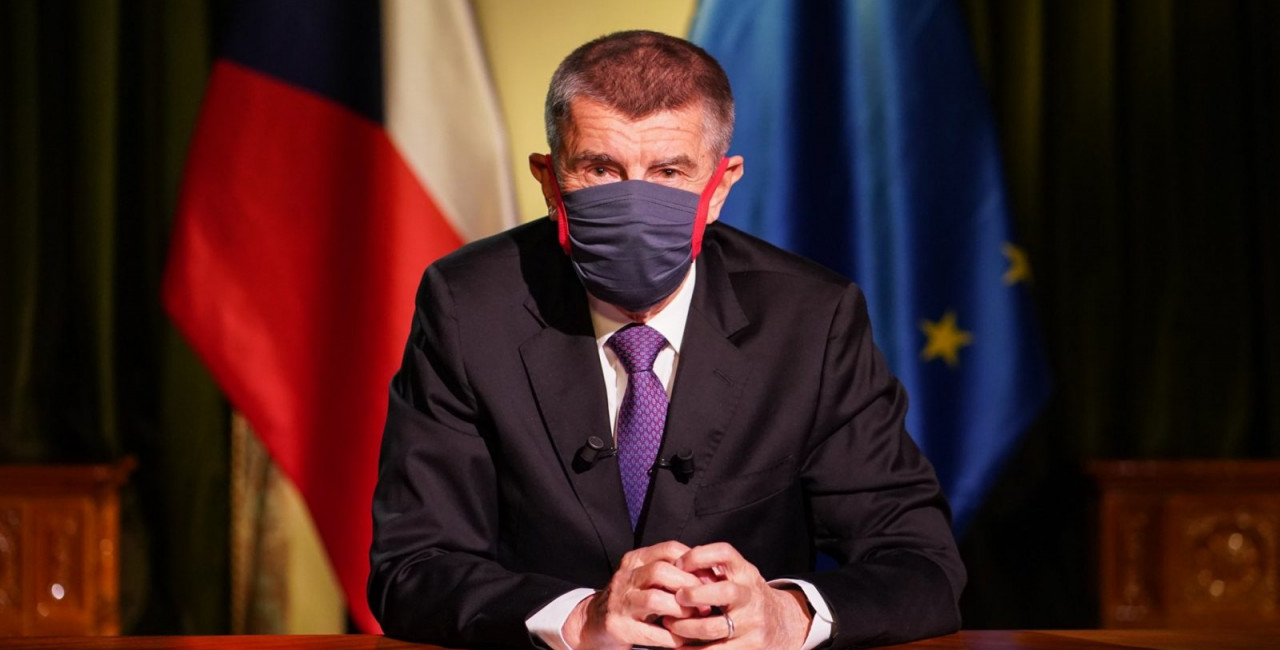 Czech PM Andrej Babiš calls on Donald Trump to make face masks obligatory
