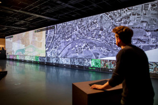 New interactive exhibit at CAMP lets you explore Prague's development over 200 years