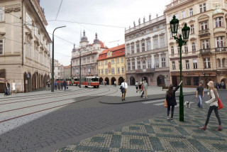 Renovations on Prague's Malostranské náměstí will start in an effort to create jobs