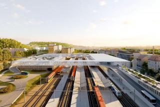 General designer chosen for Prague's Smíchov Terminal, construction could start in four years