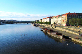 Prague's (A)void Floating Gallery on Náplavka may cease operations at the end of May