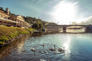A new Saturday market is opening at Prague's oldest river spa this weekend