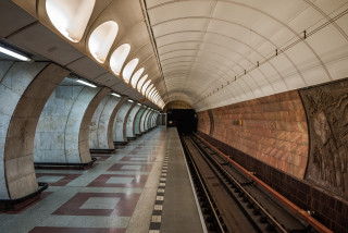 Prague has added mobile coverage to new stations along the B-line metro