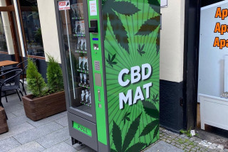 Cannabis product vending machines popping up in the Czech Republic