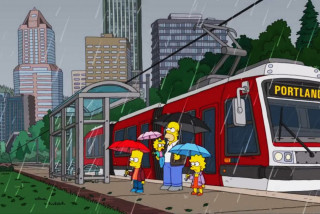Czech-built tram makes an appearance on The Simpsons