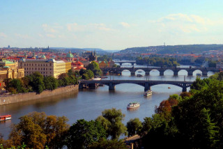 New observation deck in Letná offers picture-perfect views of Prague's bridges