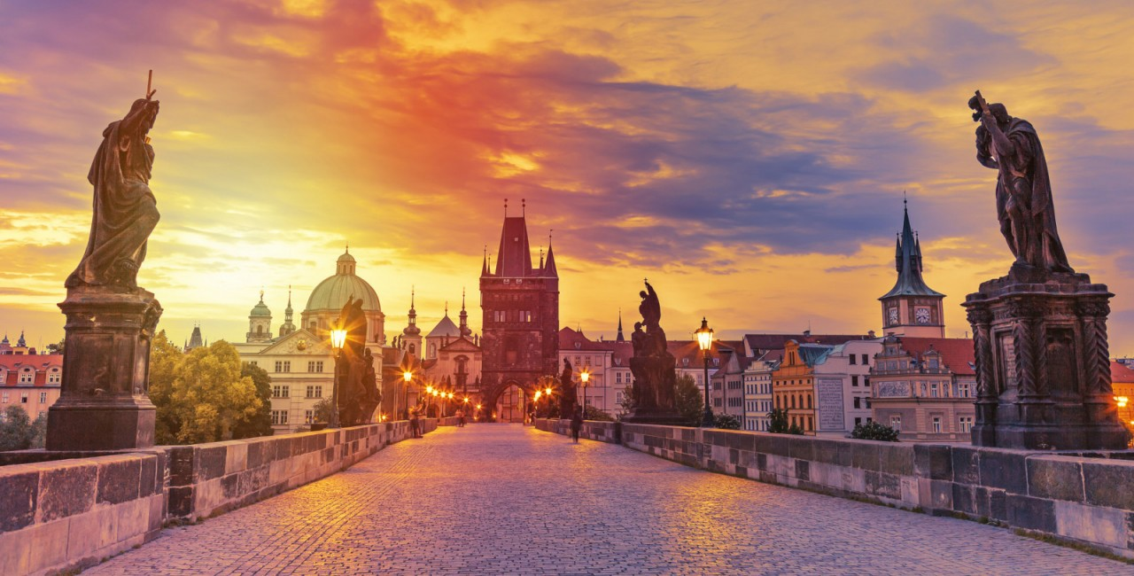 Prague's Charles Bridge via iStock / nantonov