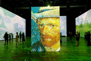 Impressionist art becomes an immersive experience at Prague's Forum Karlín