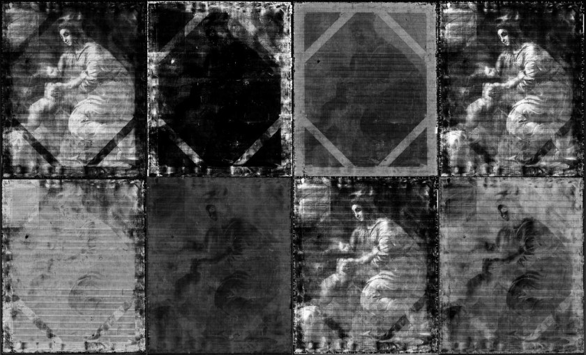 Black-and-white imaging of Madonna and Child / via Insight Art