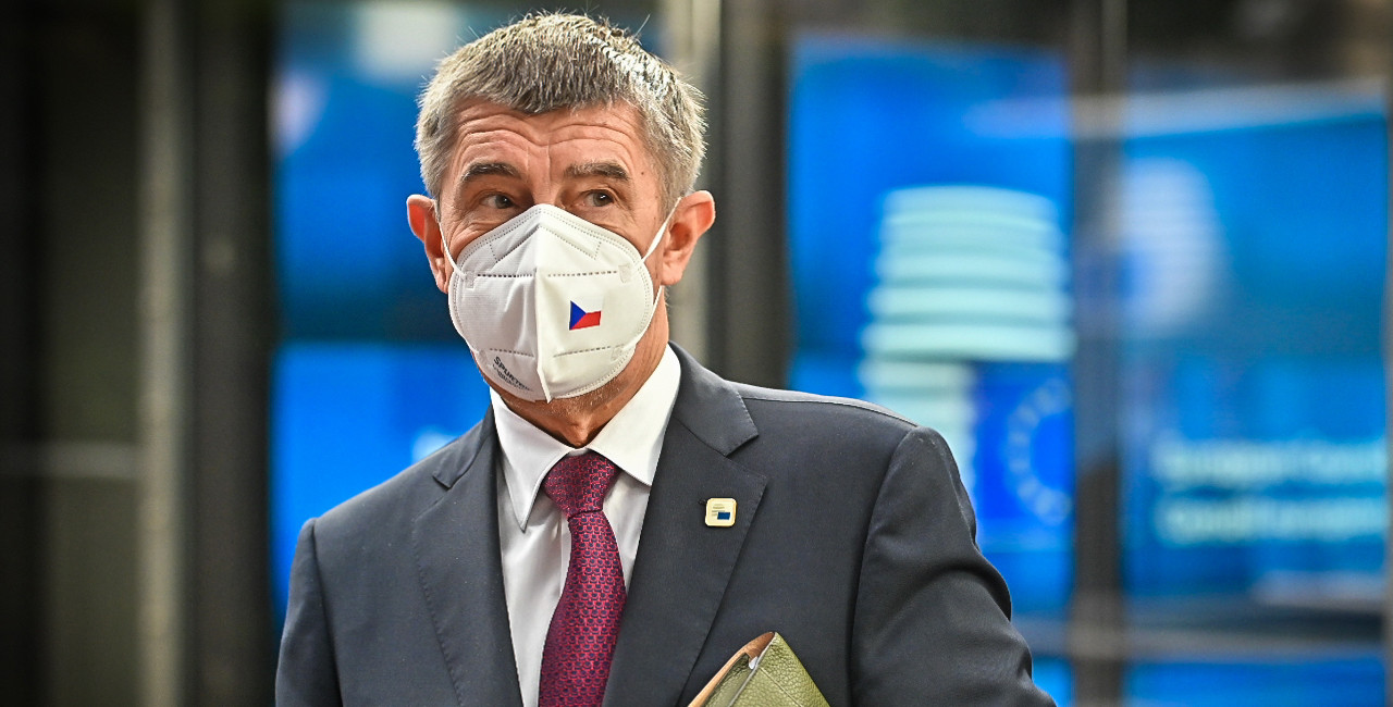 Czech PM Andrej Babiš in Brussels on October 16, 2020. (photo: vlada.cz)