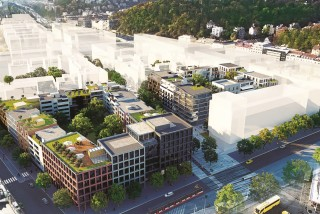 Construction starts on Smíchov City, the largest development project in Prague's modern history