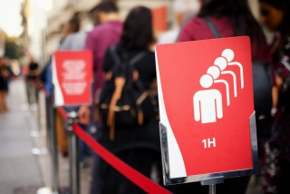 Prague hopes a new online tool will help ease lines at testing points across the Czech capital
