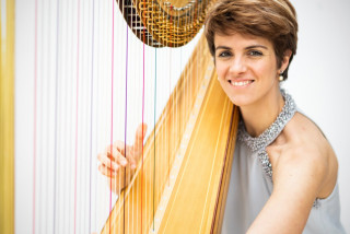 My Prague Job: Solenn Grand's heavenly harp can be heard at Prague's premiere opera house