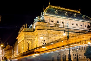 Theatres and galleries across Prague will light up to symbolize the importance of culture