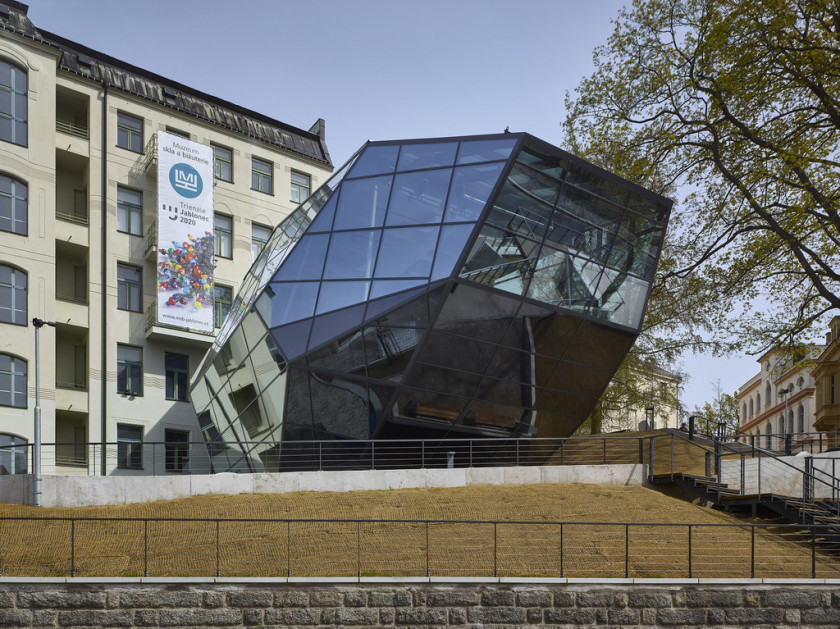 Museum of Glass and Jewelry in Jablonec nad Nisou / via Stavba roku