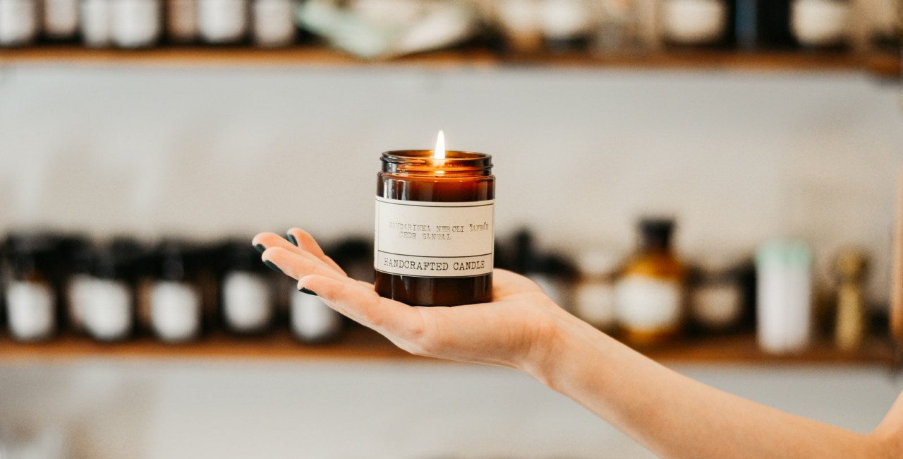 Soywax candle by Perfumed Prague