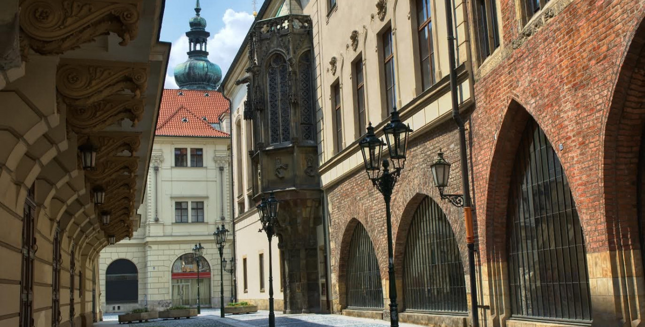 The Carolinum, the oldest building of Charles University in Prague