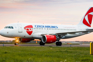 Czech Airlines will resume flights to London, Amsterdam from Monday