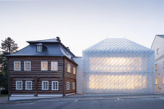 Stunning glass house wins Czech architecture's top prize, Prague riverside 'cubicles' make finals