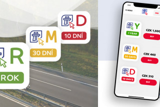Starting December 1st, motorists in the Czech Republic will be able to buy the new electronic motorway pass online.