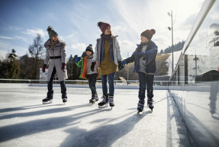 Prague opens free ice skating rink at Letná Park