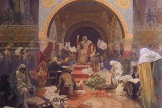 District court rules (again) on ownership of Mucha's Slav Epic