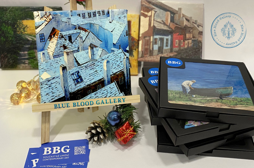 Blue Blood Gallery gift vouchers can be me used for a variety of art-themed gifts