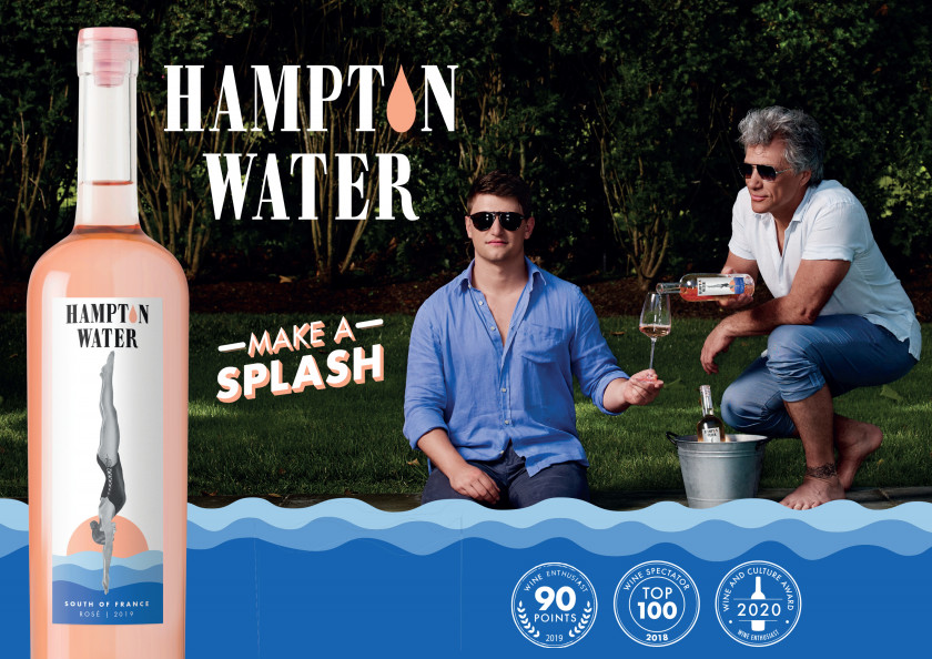 Hampton Water is made in the Languedoc region of France